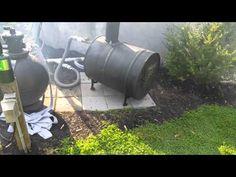 Wood fire hot water heater test - YouTube