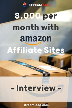 In this interview we talk with Zach, an affiliate focused on Amazon Associates who is doing close to $10,000 USD per month with Amazon Affiliate Sites. Amazon Associates, Making 10, Affiliate Marketing, Seo, Interview