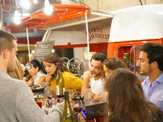"""Julien Deboue's hot new Basque-style street food, tapas bar and gourmet restaurant is all under one roof in a former warehouse by the Opera. Although the name means """"Chez Nous"""", for groups of friends it will quickly become """"Chez Vous!"""""""