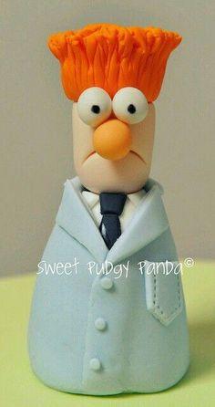 Beaker (Muppet)Cake