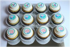 George Pig Cupcakes
