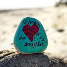 """175 Likes, 2 Comments - The Kindness Rocks Project (@thekindnessrocksproject) on Instagram: """"Shine on good ❤️'s #thekindnessrocksproject"""""""