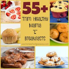 "If you're following the THM Lifestyle, check out these DELICIOUS ""E"" Breakfasts. :: www.homeschoolgiveaways.com"
