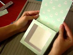 How to make a shadow box using paper - Part 2