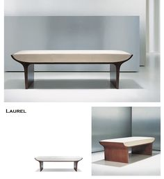 Laurel bench Zen Furniture, Oriental Furniture, Furniture Styles, Furniture Design, Sofa Design, Interior Design, Soft Seating, Cool Chairs, Chair And Ottoman