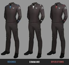 New version of uniform, I'm experimenting with piping and contrast, I think this version is more visually engaging. Cyberpunk, Semi Casual Outfit, Navy Uniforms, Military Uniforms, Starfleet Ships, Star Trek Characters, Sci Fi Armor, The Future Is Now, Star Trek Universe
