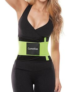 d860e023b128e Camellias Women Waist Trainer Belt Body Shaper Belly Wrap - Trimmer Slimmer  Compression Band for Weight