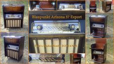 Blaupunkt Arizona 57 Export Radio Cabinet TOMANIA Radio World Jukebox, Arizona, Germany, Cabinet, World, Clothes Stand, Closet, Deutsch, Cupboard