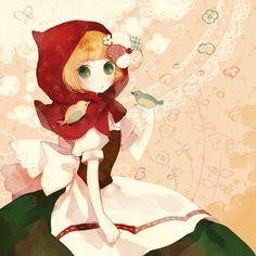 Pechika, Red Riding Hood, Red Riding Hood (Character), Pixiv