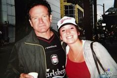You'll Never Walk Alone....Was Robin Williams a Liverpool fan? Picture of the Mrs Doubtfire actor wearing an LFC shirt surfaces on the internet