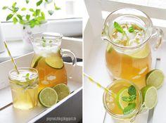 piepmatz: Rezept: Mango-Limetten-Minz-Eistee.