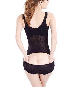 Hioffer Womens Body Shaper Briefer Slimmer Seamless Underbust Shapewear Smooth Bodysuit