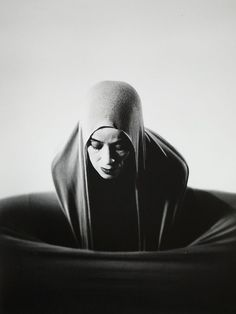 American dancer, Martha Graham, Lamentation. photo by Barbara Morgan (1935)