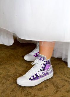 Bat Mitzvah style - great sneakers to match this Bat Mitzvah theme!