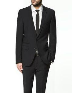 ASOS - Skinny Fit Black Suit Jacket | My Style | Pinterest | Black ...