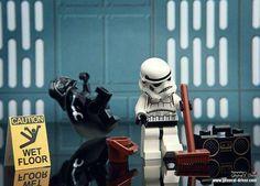 Funny star wars lego