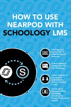 Technology in the classroom idea searching.especially since you need resources for remote learning due to COVID? Schoology LMS tips and tricks found here by using Nearpod! Schoology and Nearpod work for elementary, middle school, and high school! Educational Technology, Instructional Technology, Instructional Strategies, Technology Tools, Technology Design, Technology Logo, Virtual High School, Professional Development For Teachers, Online Classroom