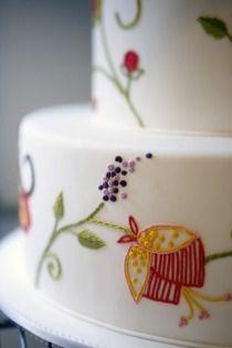 needlepoint cake!