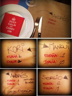 ideas para una mesa divertida #mesa #lepapillon vía blog de @lepapillon_ca www.lepapillon.com.ve