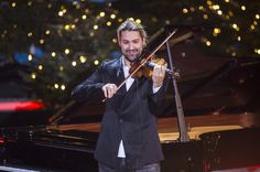 David Garrett Photos Photos - David Garrett performs during the 'Heiligabend mit Carmen Nebel' TV show at Bavaria Filmstudios on November 26, 2015 in Munich, Germany. - 'Heiligabend mit Carmen Nebel' TV Show