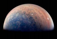 NASA julkaisee ainutlaatuisia kuvia Jupiterista   Tieku.fi