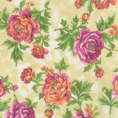 Legacy Studio Cotton Fabric-Floral Large