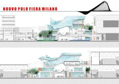new milan trade fair (sections)