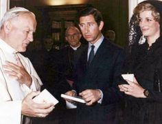 Memories Of Diana : Attending A Private Audience With His Holiness Pope John Paul II at the Vatican - April 29th 1985