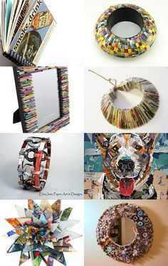 Upcycled Magazines