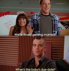 Glee memories <3 finchel