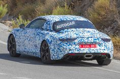 2017 Alpine A120 sports car spotted testing for first time - http://carparse.co.uk/2016/09/14/2017-alpine-a120-sports-car-spotted-testing-for-first-time/