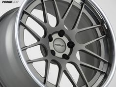 The DE3C-SL Stepped Lip concave wheel is now available featuring extended spokes that reach beyond the rim register and below the step. Shown here with Titanium center and Polished outer. See more (including sizes and pricing) at: http://www.forgeline.com/products/concave-series/de3c-sl-stepped-lip.html