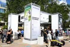 Outdoor-Messestand