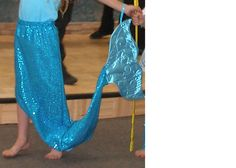 Mermaid Tail costume - skirt with tail