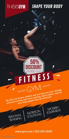 20 Best Fitness/Gym Rollup Banners images in 2019