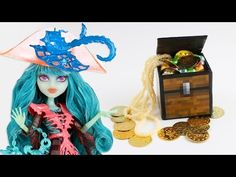How to a Minecraft inspired Doll Chest - Easy Doll Crafts - YouTube