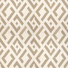 China Club Dune China Club16  Geometric, Prints, Linen, Fabric by Kravet