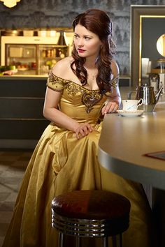 Belle. I still and forever will see Emilie de Ravin as Tess from Roswell. Forever.