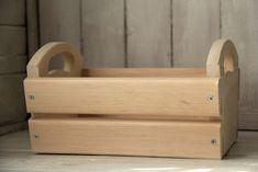 Корзина-ящик (боковые ручки) - купить или заказать в интернет-магазине на Ярмарке Мастеров | Сделано из благородного сибирского <strong…