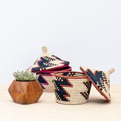 Baraka Wishing Basket - Magenta