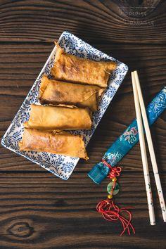 Banana Turon - filipińskie sajgonki z bananem Recipes, Recipies, Ripped Recipes, Cooking Recipes, Medical Prescription, Recipe