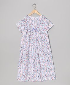Take a look at this White Heart & Bow Nightgown - Toddler & Girls by Cozytime on #zulily today!