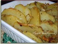 Patate al forno con funghi | Ricetta
