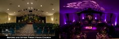 Amazing Blog! How they changed this average church and childrens church to a spectacular ceremony and reception by using draping. Tips and Tricks! This is a great blog if you are needing to transform your wedding area - Event Pro Training