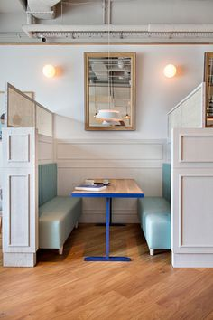 A Bright and Cheery Cafe in Sopot, Poland - Design Milk