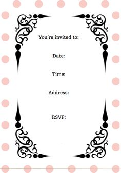 Screen Shot 2011 08 01 At 84742 AM More Birthday Party Invitation WordingSleepover InvitationsFree Printable