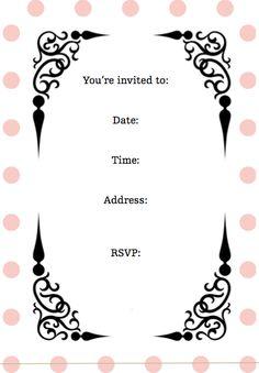 Screen Shot 2011 08 01 At 84742 AM More Birthday Party Invitation WordingSleepover InvitationsFree Printable