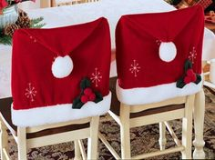Decorate your dining room chairs...