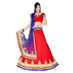 Buy Sai Laxmi Fashion Women Latest Fancy Bollywood Designer Embroidered Net Lehenga Choli by sai laxmi fashion, on Paytm, Price: Rs.999?utm_medium=pintrest