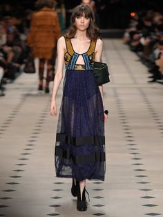 Cut-out panelled dress | Burberry Prorsum | MATCHESFASHION.COM UK